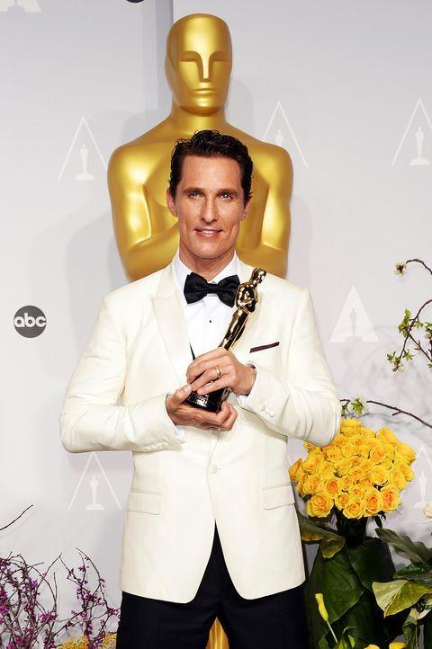 Bester-Hauptdarsteller-2014-Matthew McConaughey-getty-AFP - Bildquelle: getty-AFP