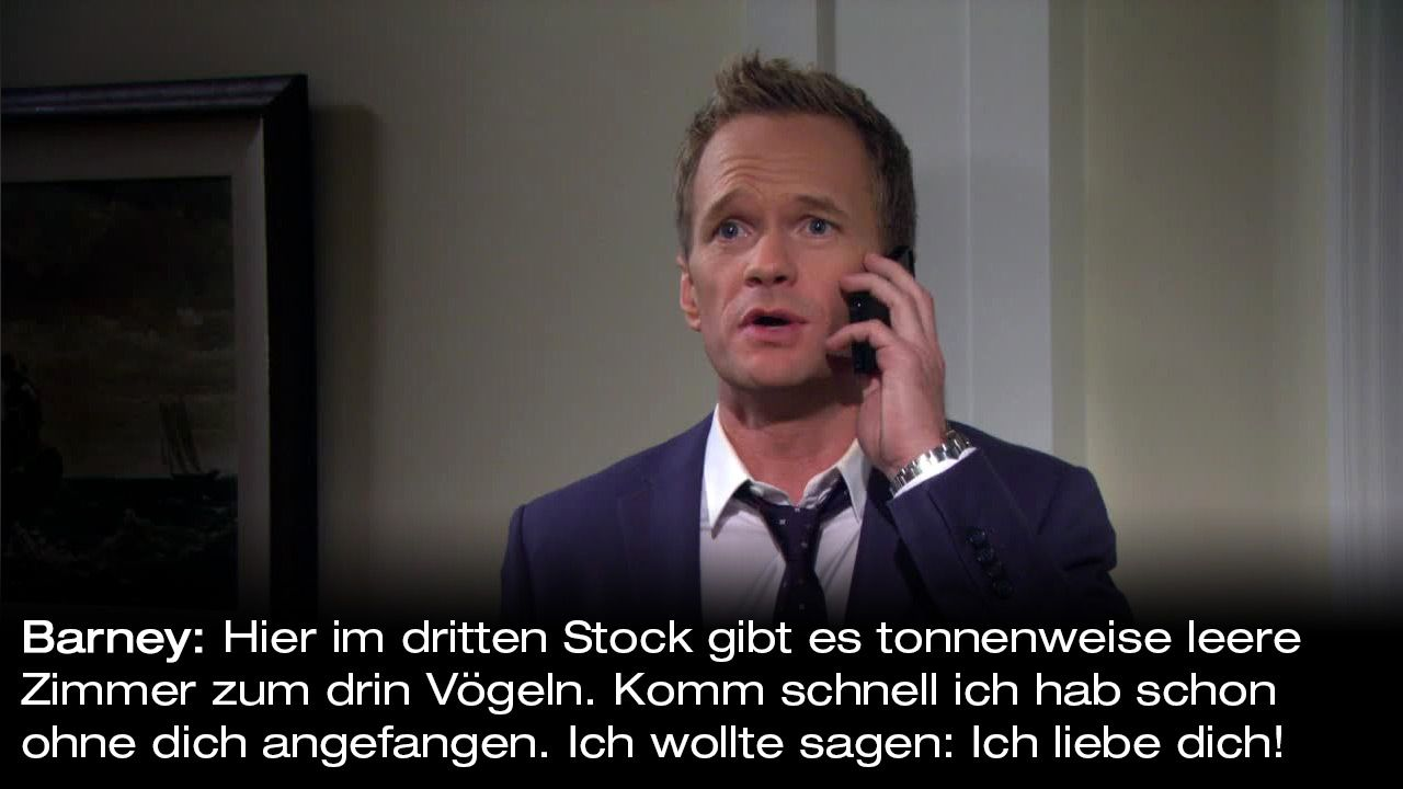 How-I-Met-Your-Mother-Zitate-Staffel-9-13-Barney-Voegeln - Bildquelle: 20th Century Fox Film Corporation all rights reserved.