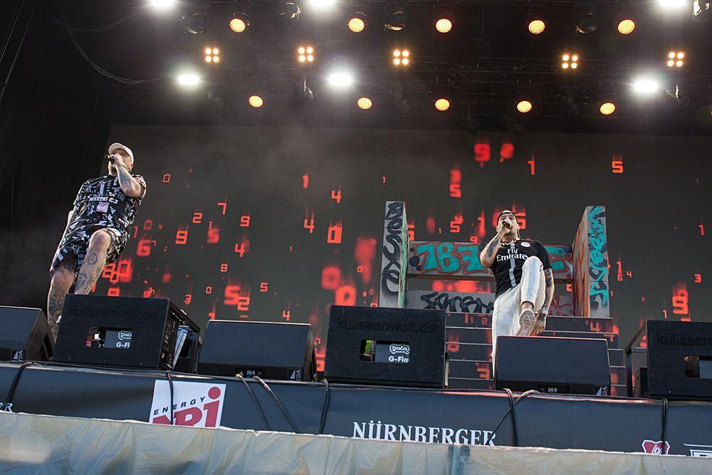 Bonez MC & Raf Camora - Bildquelle: ProSieben