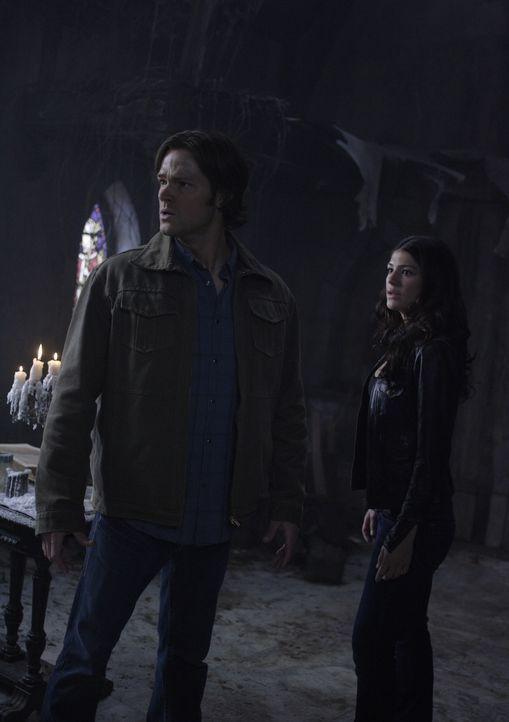 Die Geisterjäger kämpfen getrennt, denn Dean wird von Castiel und Zachariah entführt und erhält seine Chance, Luzifer aufzuhalten. Sam (Jared Pa... - Bildquelle: Warner Bros. Television