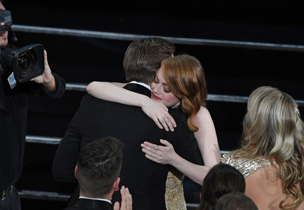 emma-stone-ryan-gosling-AFP - Bildquelle: AFP PHOTO / Mark RALSTON