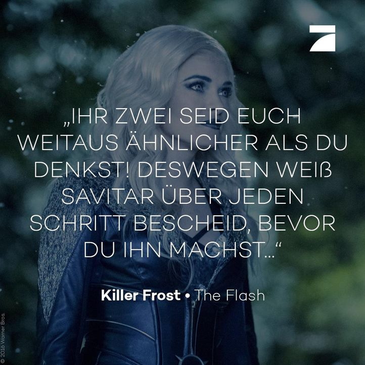 Killer Frost - Bildquelle: Warner Bros.