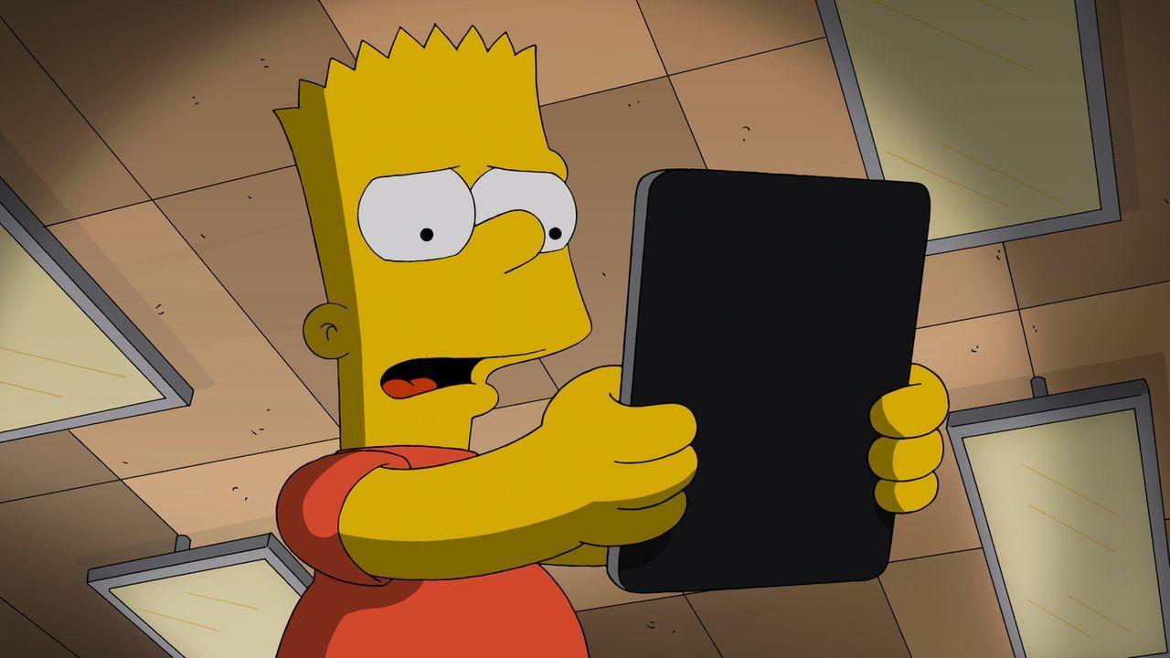 Hat keine Ahnung, was passiert, wenn er die Runeninschrift laut liest: Bart ... - Bildquelle: 2014 Twentieth Century Fox Film Corporation. All rights reserved.