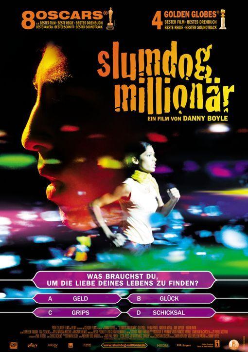 SLUMDOG MILLIONÄR - Plakatmotiv - Bildquelle: 2009 PROKINO Filmverleih GmbH