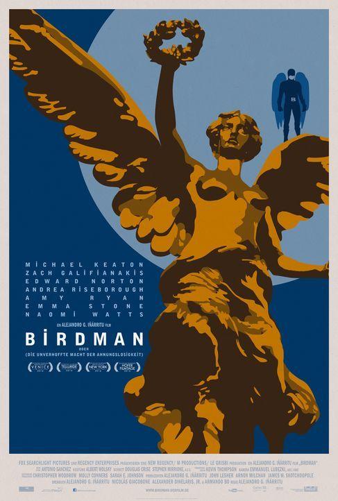 Birdman-Plakat-Mexico-20th-Century-Fox - Bildquelle: TWENTIETH CENTURY FOX
