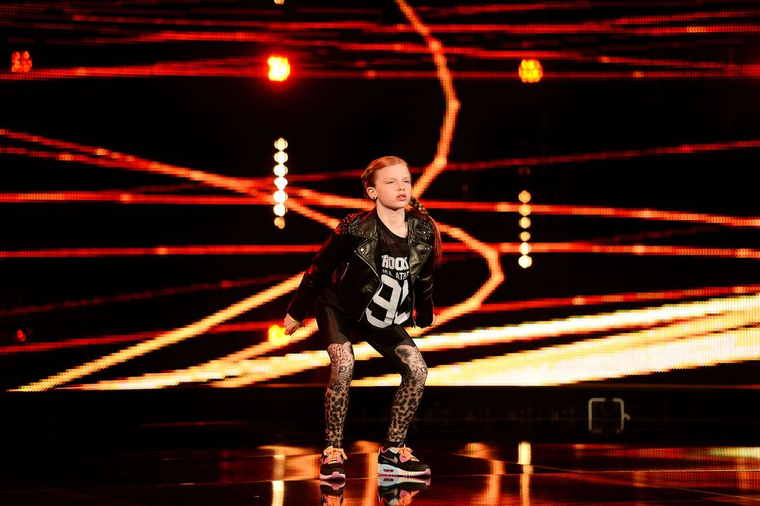 Got-To-Dance-Leonie-01-SAT1-ProSieben-Willi-Weber - Bildquelle: SAT.1/ProSieben/Willi Weber
