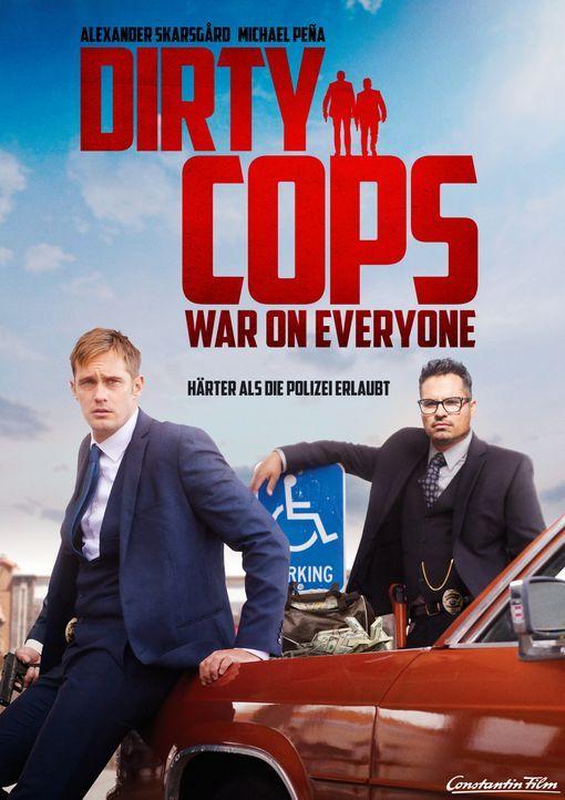 Dirty Cops - War on Everyone - Plakatmotiv - Bildquelle: 2016 Constantin Film Verleih GmbH