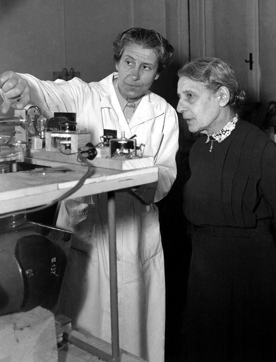 Lise Meitner - Kernspaltung (1938) - Bildquelle: Picture Alliance/ dpa Votava