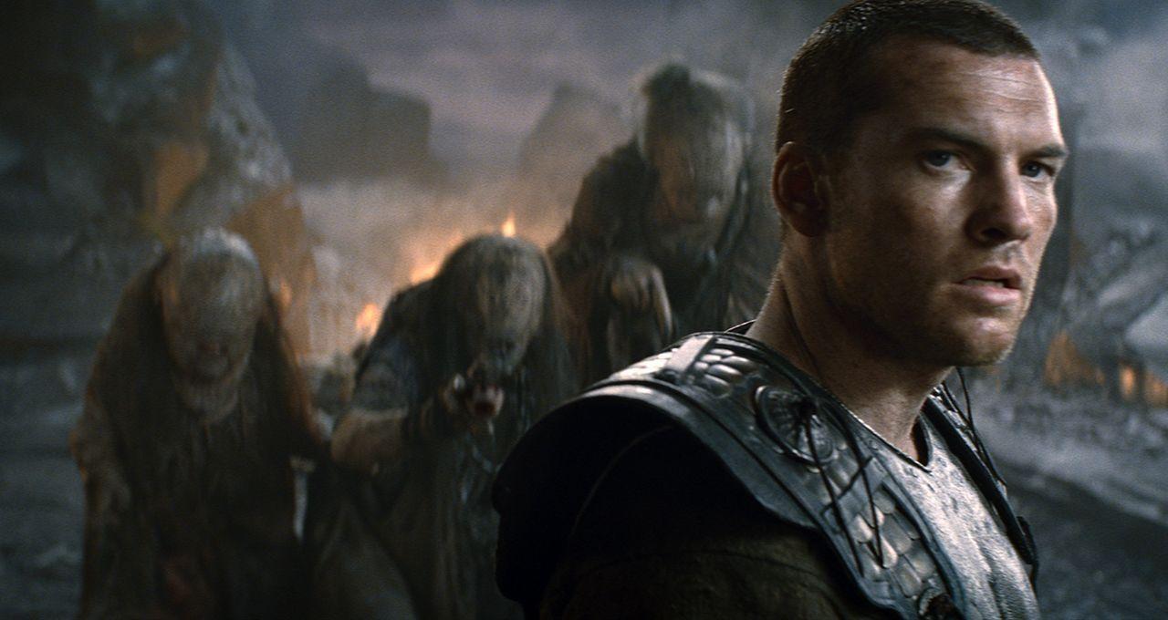 Um die Welt vor dem rachsüchtigen Gott der Unterwelt zu retten, begibt sich Perseus (Sam Worthington) mit einer Gruppe Kämpfern tief in verbotenen W... - Bildquelle: 2010 Warner Bros.