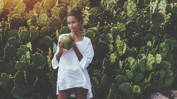 Die Kokosnuss schmeckt nicht nur gut, sondern ist auch ein wahres Beauty-Wund...