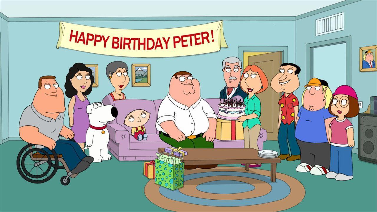 Peter (M.) hat Geburtstag und das muss natürlich gebührend gefeiert werden ... - Bildquelle: 2010 Twentieth Century Fox Film Corporation. All rights reserved.