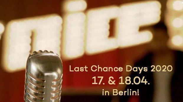 Last Chance Days 2020 mit Datum
