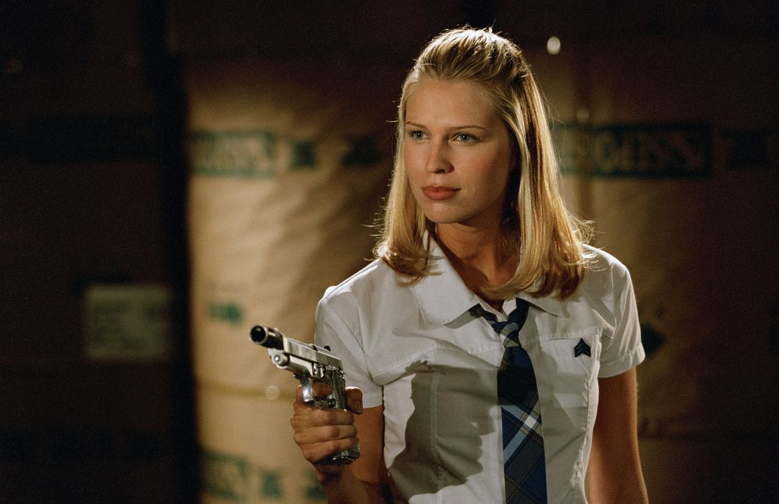 Im Kampf gegen die Böse: Amy (Sara Foster) ... - Bildquelle: Copyright   2005 Screen Gems, Inc. All Rights Reserved.