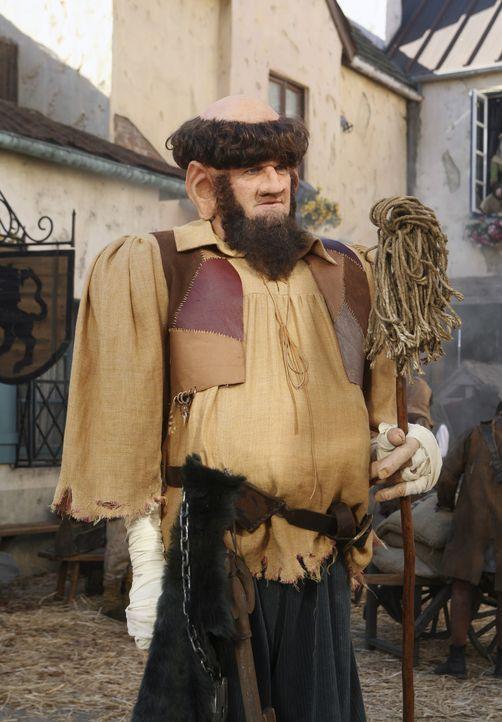 Der Hausmeister (Neil Flynn) wird in einem Märchen von Dr. Cox zum Riesen, der ein kleines Dorf bedroht ... - Bildquelle: Touchstone Television