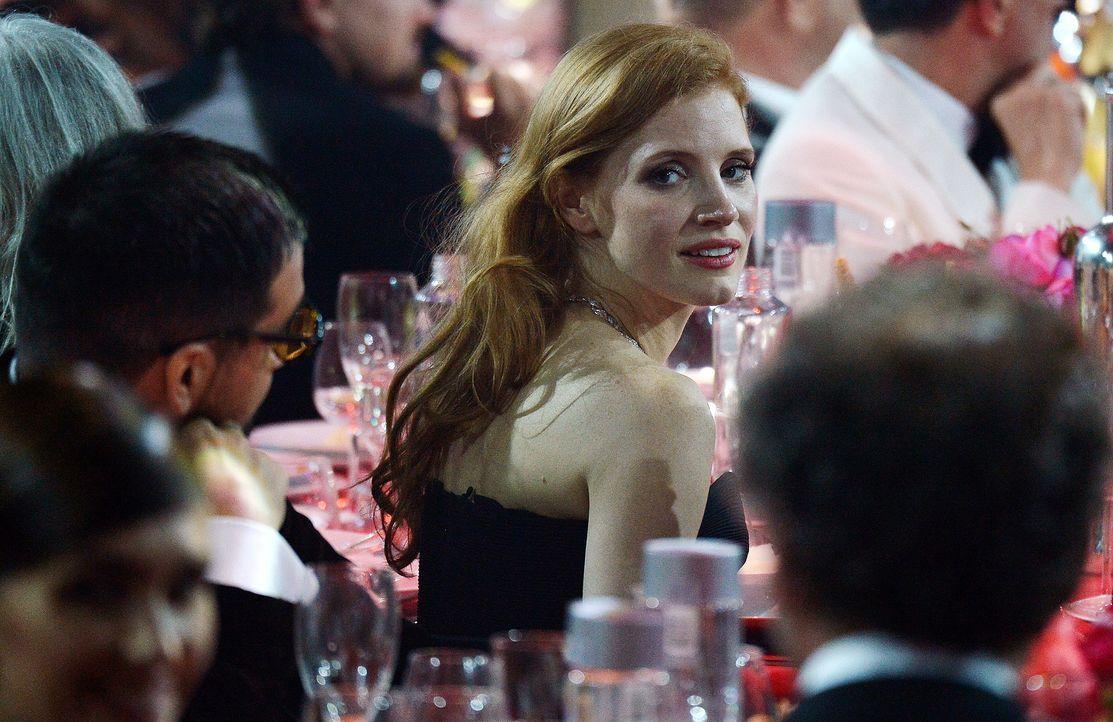 Cannes-Filmfestival-amfAR-Jessica-Chastain-140522-AFP - Bildquelle: AFP