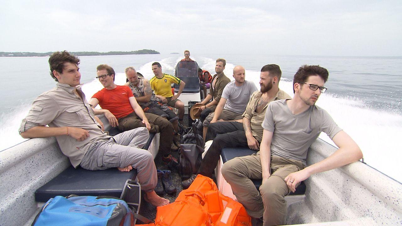 Ankunft_Boot - Bildquelle: ProSieben