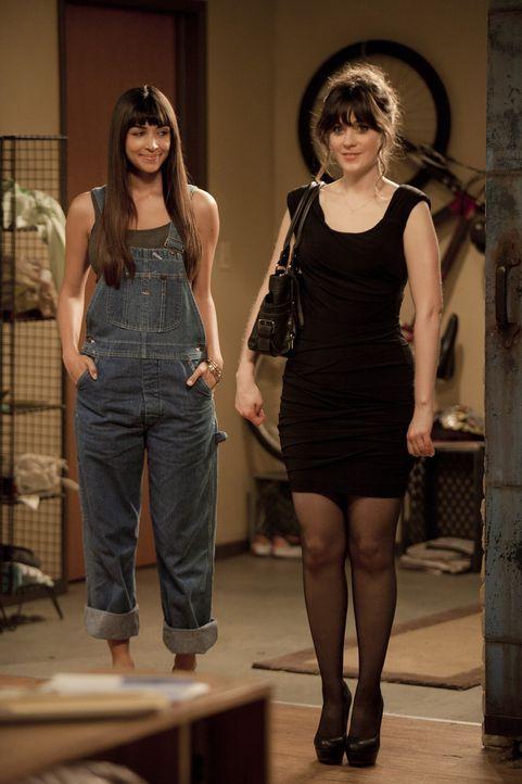 Beste Freunde:  Jess (Zooey Deschanel, r.) und Cece (Hannah Simone, l.) ... - Bildquelle: 20th Century Fox