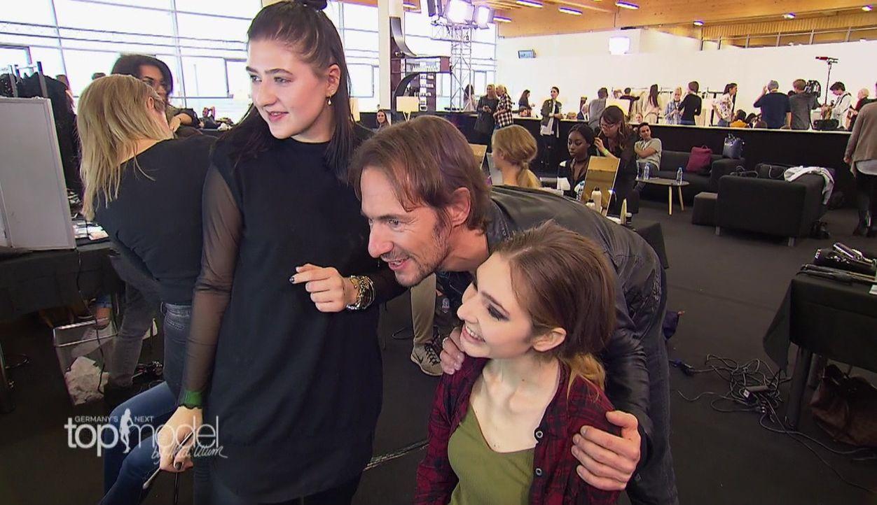 GNTM-S12-Sendung01-45 - Bildquelle: ProSieben