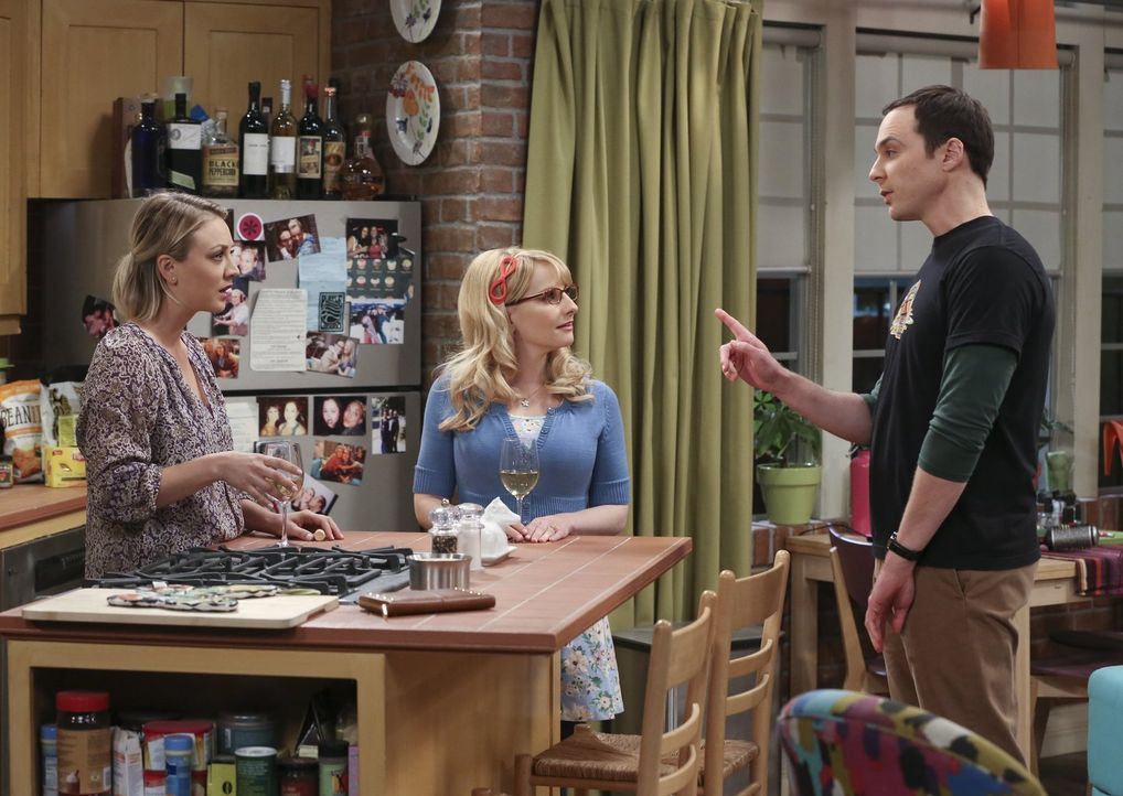 Da Sheldon (Jim Parsons, r.) beschlossen hat, mit Amy ihren Geburtstag zu feiern, braucht er Hilfe  - Bildquelle: 2015 Warner Brothers