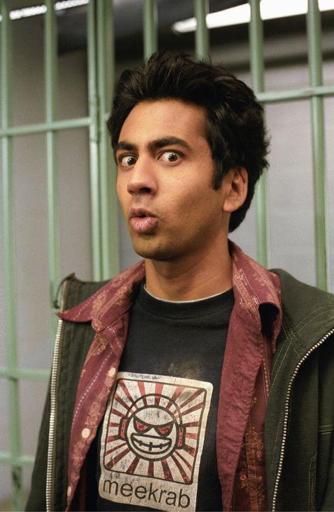 In der chaotischsten Nacht seines jungen Lebens landet Kumar (Kal Penn) mit seinem besten Freund Harold natürlich auch hinter Schwedischen Gardinen...