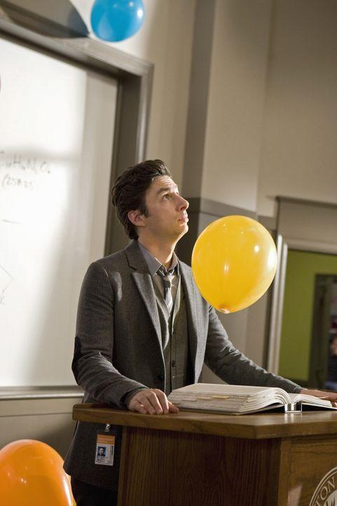 Sein letzter Tag an der Uni: J.D. (Zach Braff) ... - Bildquelle: Touchstone Television