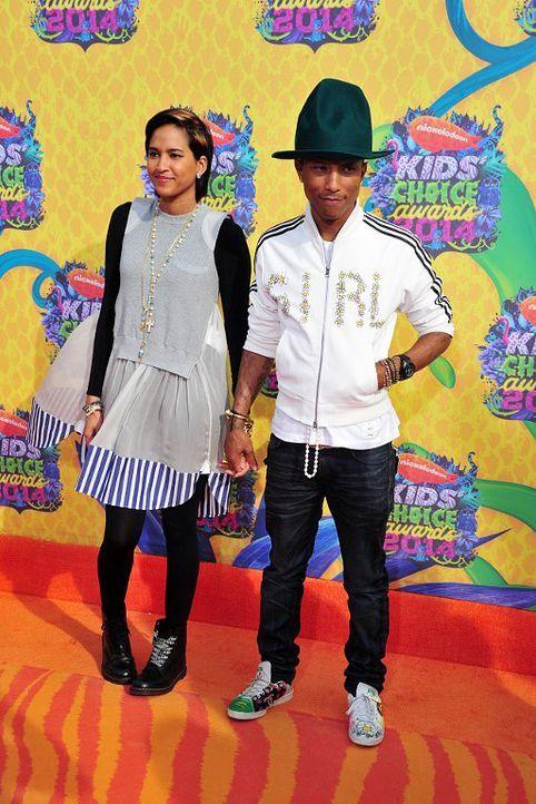 Kids-Choice-Awards-Pharrell-Williams-Helen-Lasichanh-14-03-29-getty-AFP - Bildquelle: getty-AFP