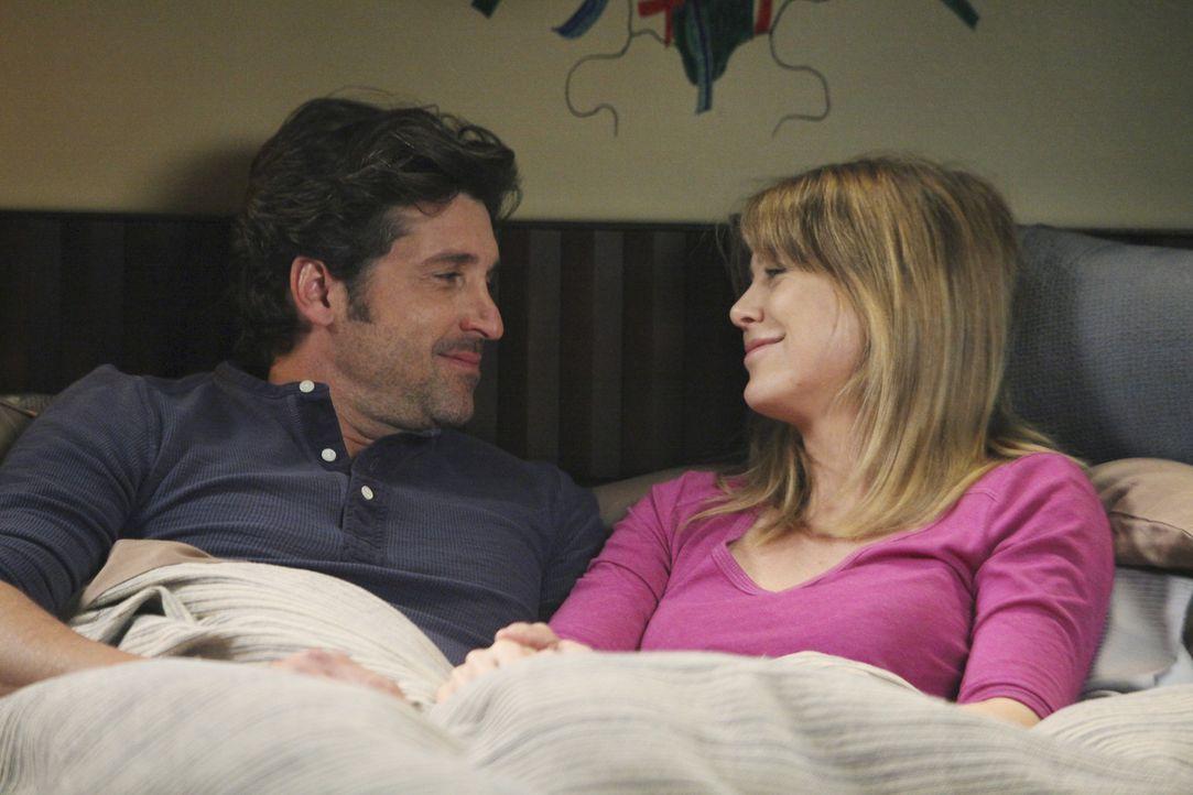 Wollen unbedingt ein Baby bekommen: Derek (Patrick Dempsey, l.) und Meredith (Ellen Pompeo, r.) ... - Bildquelle: ABC Studios