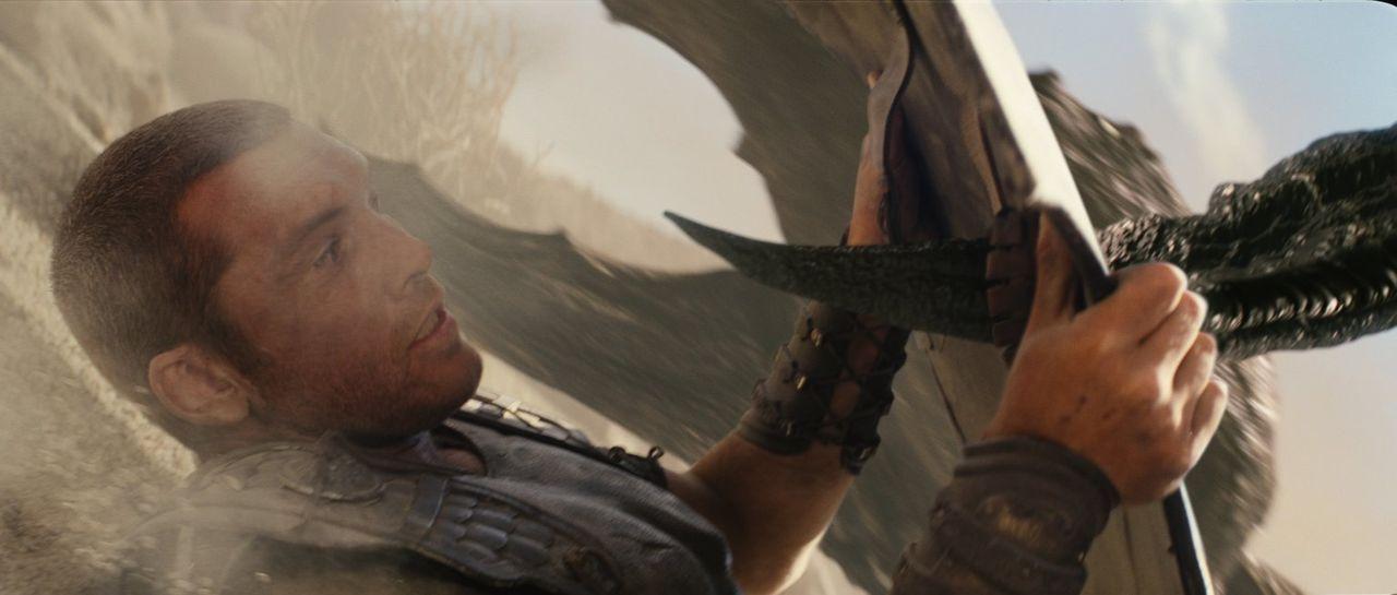 Als die Welt droht dem Kampf der Götter zum Opfer zu fallen, begibt sich Zeus' Sohn Perseus (Sam Worthington) auf eine gefährliche Mission ... - Bildquelle: 2010 Warner Bros.