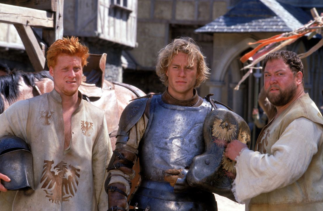 Eines Tages stehen die beiden Knappen Roland (Mark Addy, r.) und Wat (Alan Tudyk, l.) vor einer schweren Entscheidung: Entweder ein leerer Magen ode... - Bildquelle: 2003 Sony Pictures Television International. All Rights Reserved
