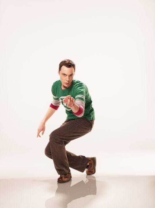 (4. Staffel) - Bringt seine Freunde oft zur Verzweiflung: Sheldon (Jim Parsons) ... - Bildquelle: Warner Bros. Television