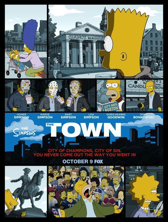 Die Grausamkeit und die Verbrechen in der Stadt Boston müssen die Simpsons mit Leib und Seele erfahren ... - Bildquelle: 2016-2017 Fox and its related entities. All rights reserved.