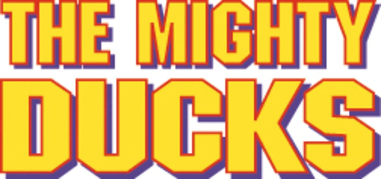 """MIGHTY DUCKS - DAS SUPERTEAM"" - Logo"