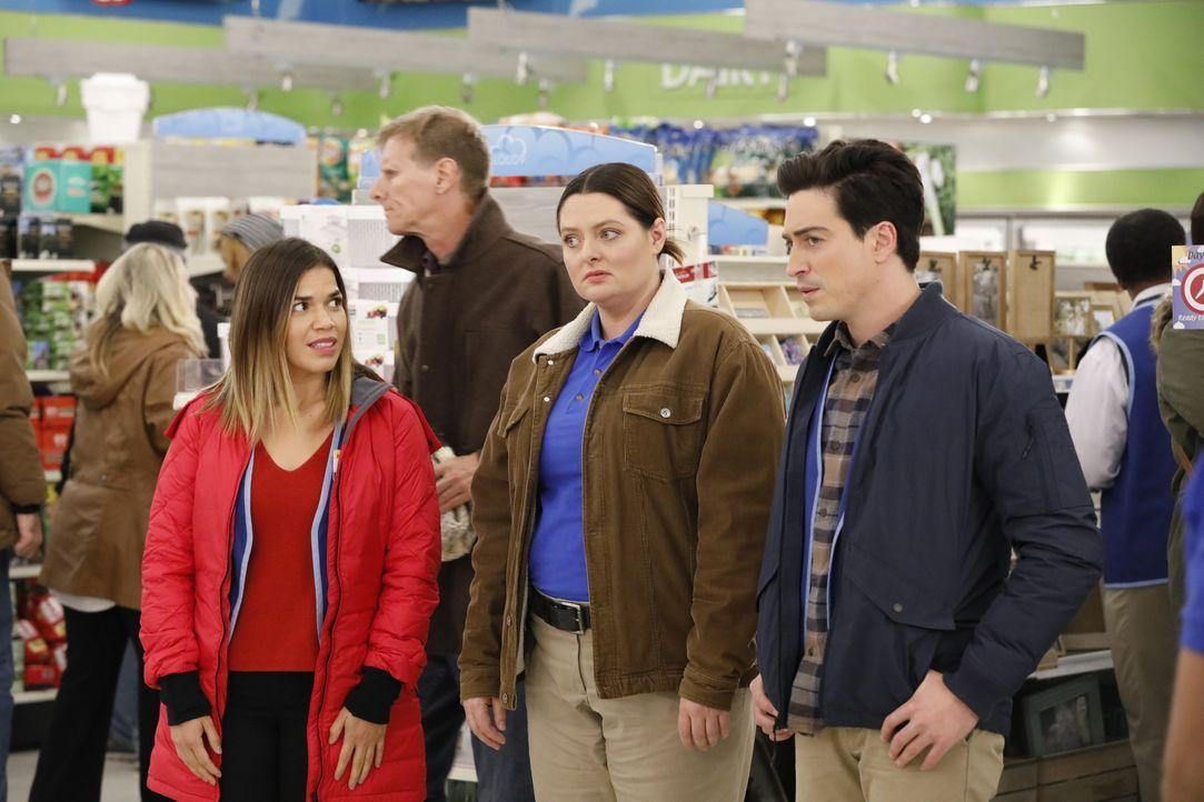 (v.l.n.r.) Amy (America Ferrera); Dina (Lauren Ash); Jonah (Ben Feldman) - Bildquelle: Evans Vestal Ward 2017 NBCUniversal Media, LLC / Evans Vestal Ward