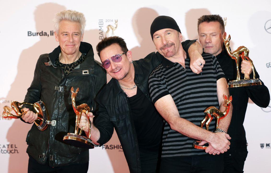 U2-14-11-13-dpa - Bildquelle: dpa