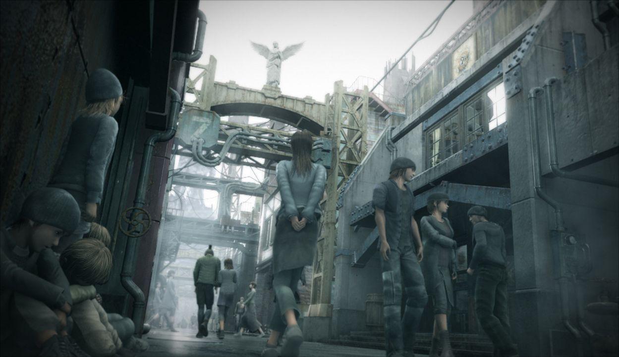 Die Welt steht vor einer neuen Bedrohung: Eine geheimnisvolle Krankheit breitet sich rapide aus ... - Bildquelle: 2005 Square Enix Co., LTD. All Rights Reserved.