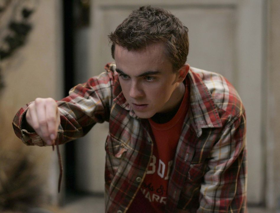 Malcolm (Frankie Muniz) hat nur Blödsinn im Kopf ... - Bildquelle: TM +   2000 Twentieth Century Fox Film Corporation. All Rights Reserved.