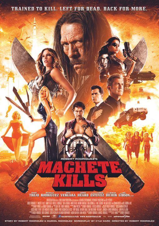 Machete-Kills-Hauptplakat-01-Universum-Film - Bildquelle: Universum Film
