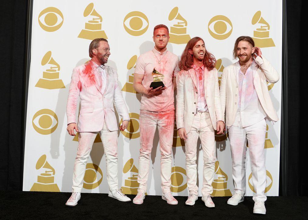Grammy-Awards-Radioactive-14-01-26-AFP - Bildquelle: AFP