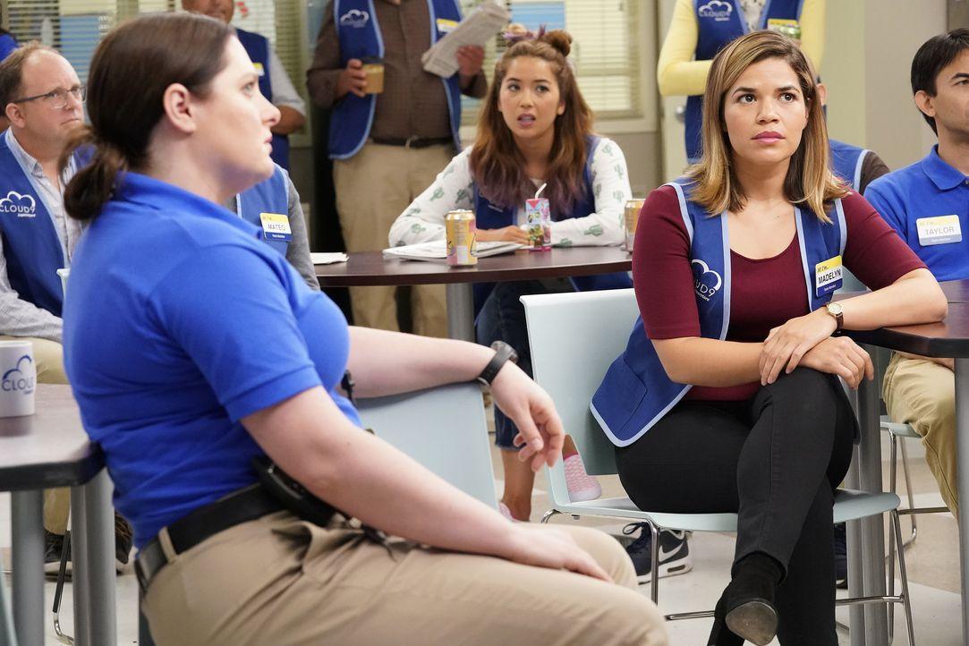 (v.l.n.r.) Dina (Lauren Ash); Cheyenne (Nichole Bloom); Amy (America Ferrera) - Bildquelle: Greg Gayne 2017 NBCUniversal Media, LLC / Greg Gayne