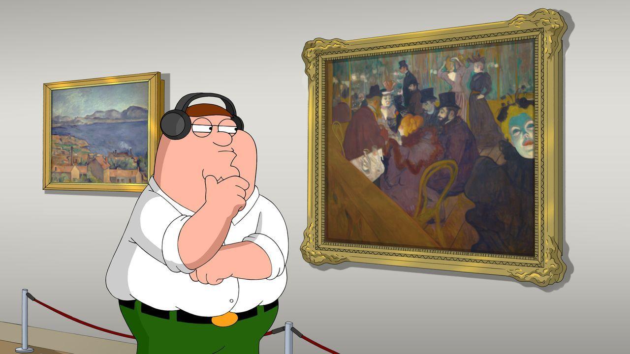 Bildet sich weiter, nachdem er von Lois als dumm beschimpft wurde: Peter ... - Bildquelle: 2014 Twentieth Century Fox Film Corporation. All rights reserved.