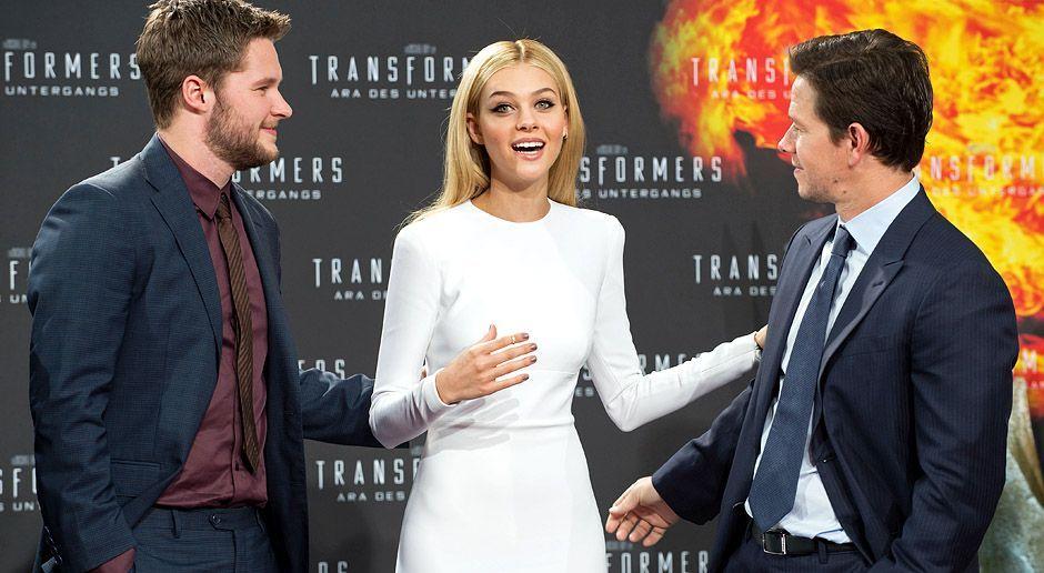 Transformers-Aera-des-Untergangs-Jack-Reynor-Nicola-Peltz-Mark-Wahlberg-14-06-29-1-dpa - Bildquelle: dpa