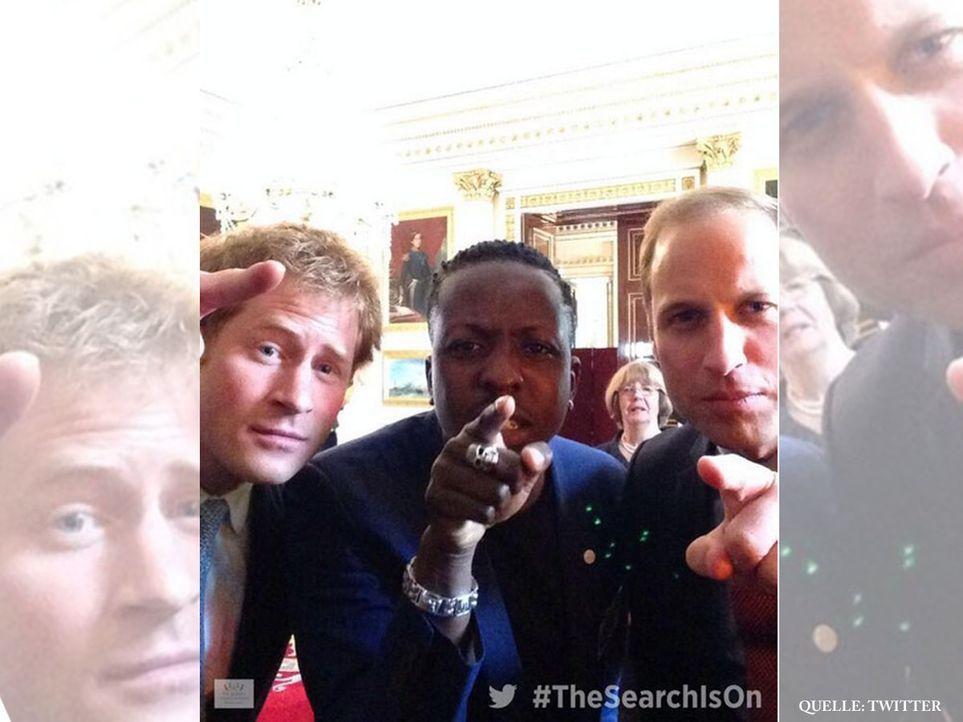 Royals-Selfie-14-07-10-twitter-com - Bildquelle: twitter