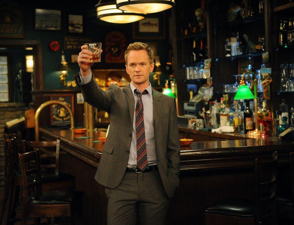 Macht es sich zur Aufgabe, etwas Privates von Lily und Marshall herauszufinden: Barney (Neil Patrick Harris) ... - Bildquelle: 20th Century Fox International Television
