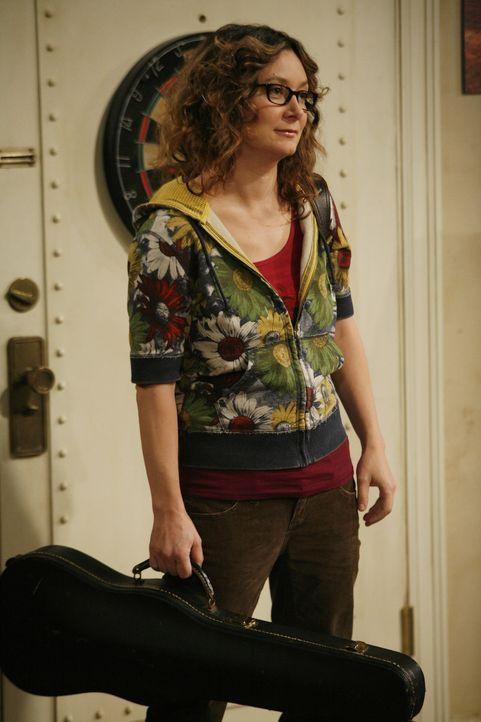 Bittet Leonard im Streichquartett der Physiker mitzuspielen: Leslie (Sara Gilbert) ... - Bildquelle: Warner Bros. Television