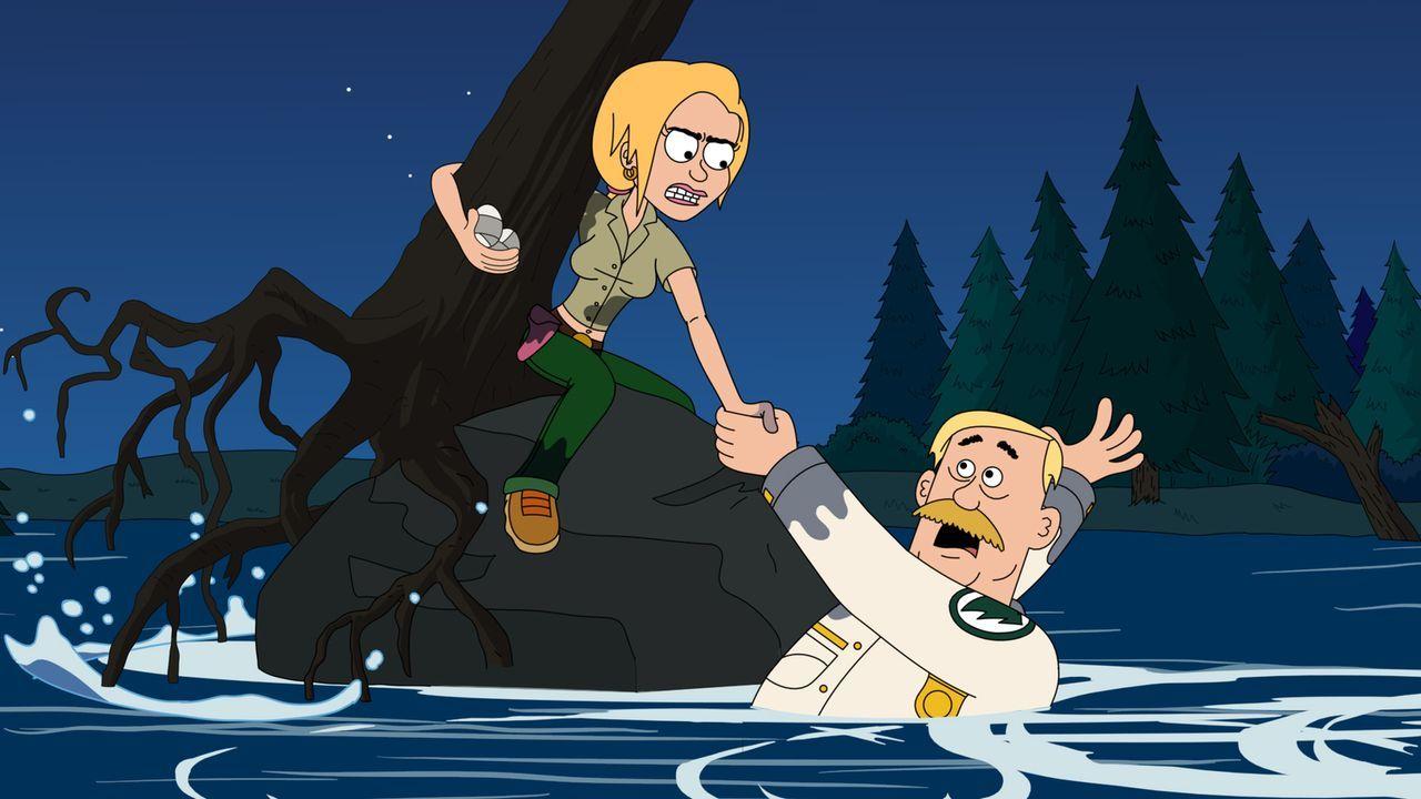 Mit all ihren Kräften versucht Ethel (l.), ihren Chef Woody (r.) zu retten ... - Bildquelle: Motion Picture   2012 Twentieth Century Fox Film Corporation and Comedy Partners. All rights reserved.