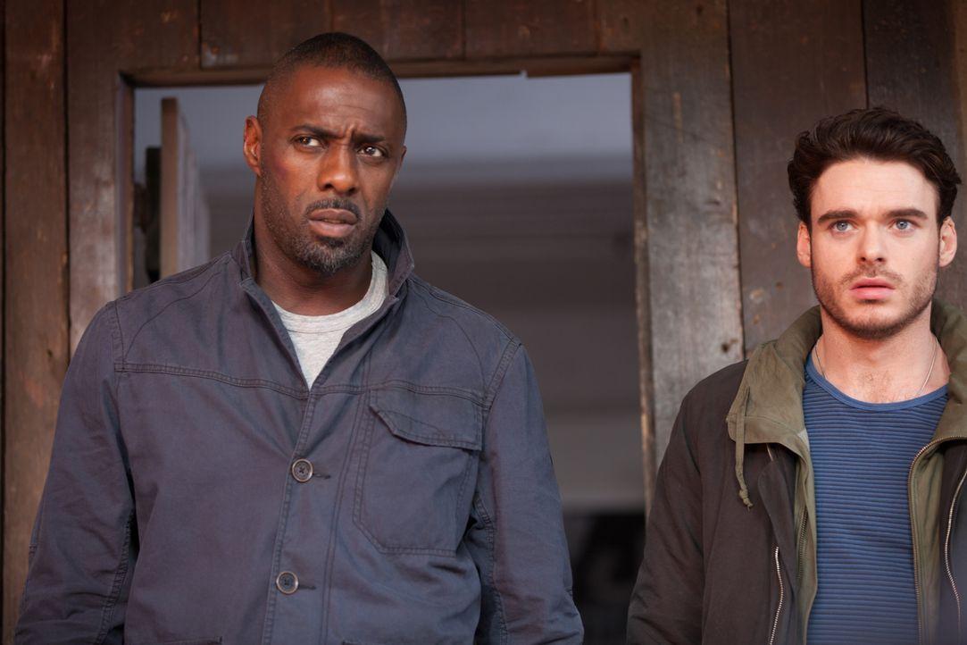 Sean Briar (Idris Elba, l.); Michael Mason (Richard Madden, r.) - Bildquelle: 2016 STUDIOCANAL S.A. TF1 FILMS PRODUCTION S.A.S. ALL RIGHTS RESERVED.