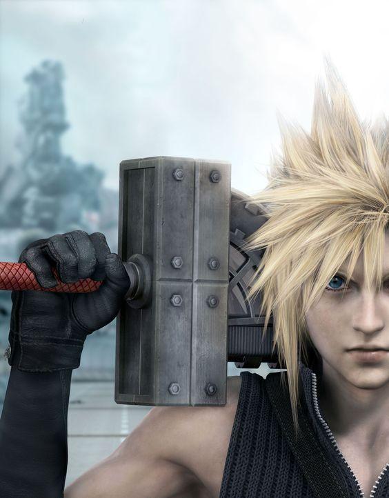 Cloud, der sein Leben als Held hinter sich gelassen hatte, muss noch einmal zum Kampf antreten ... - Bildquelle: 2005 Square Enix Co., LTD. All Rights Reserved.