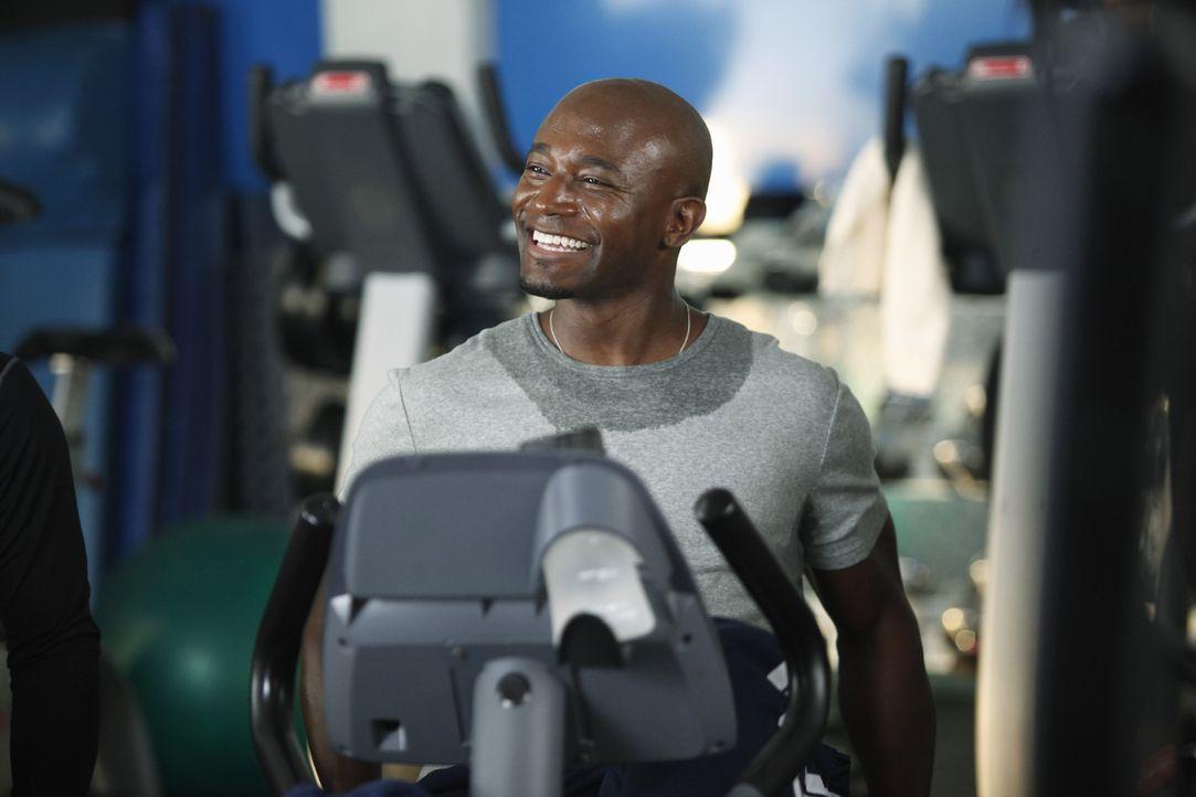Nach der Trennung von Addison, ist Sam (Taye Diggs) auf der Suche nach einer neuen festen Freundin. Doch wird er im Fitnessstudio die Richtige finden? - Bildquelle: ABC Studios