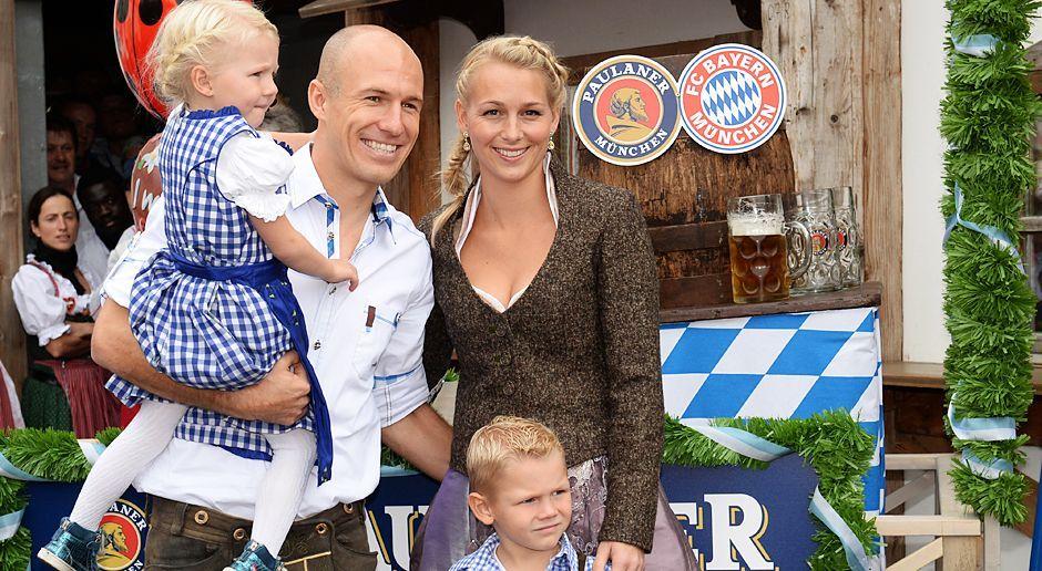 Arjen-Robben-oktoberfest-wiesn-13-10-06-dpa - Bildquelle: dpa
