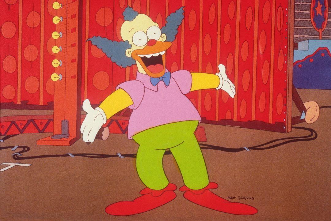 Bei seiner Abschiedsansprache sagt Krusty der Clown einfach mal die Wahrheit - und reißt damit das Publikum zu Lachsalven hin. Daraufhin ist klar:... - Bildquelle: und TM Twenthieth Century Fox Film Corporation - Alle Rechte vorbehalten
